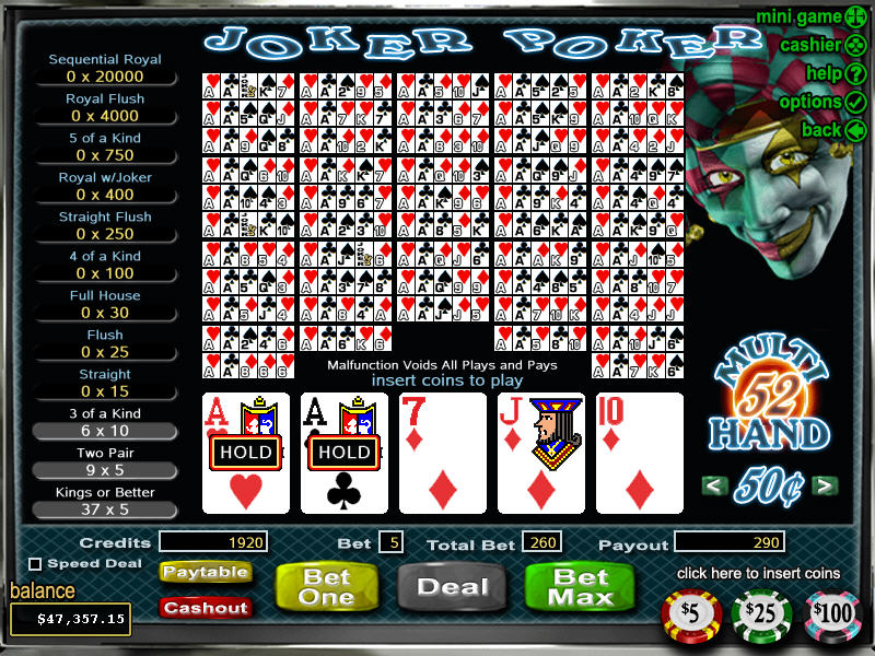 casino online free poker joker